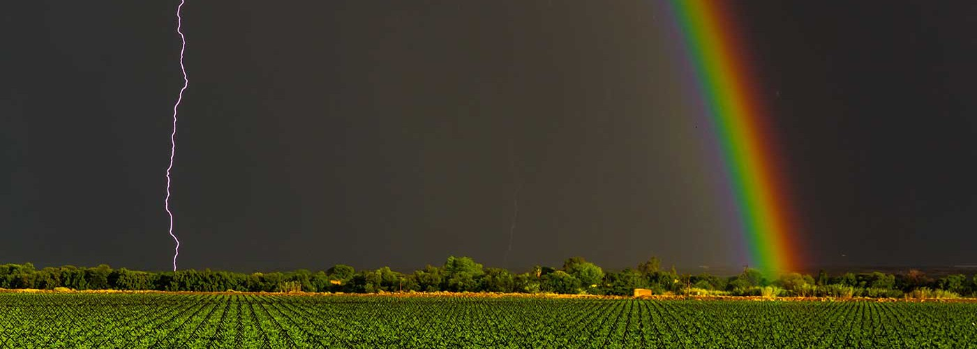 Lightning view | African Vineyard | Upington & Keimoes Accommodation